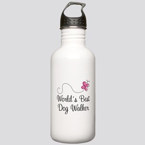 Dog Walker (World's Best) Stainless Water Bottle 1