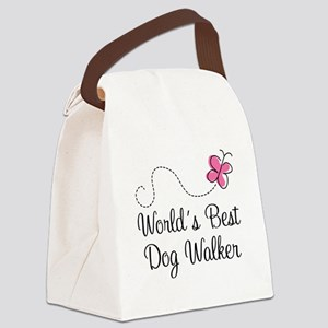 Dog Walker (World's Best) Canvas Lunch Bag