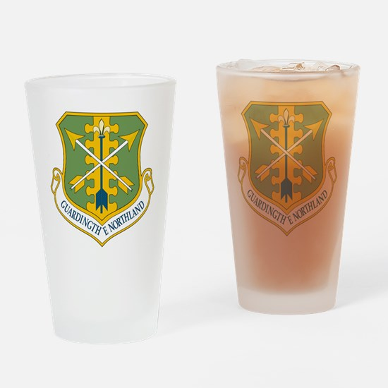USAF 119th Fighter Wing Emblem Drinking Glass