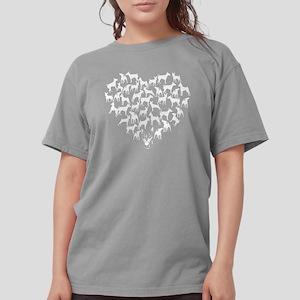 Miniature Pinscher Hea Womens Comfort Colors Shirt