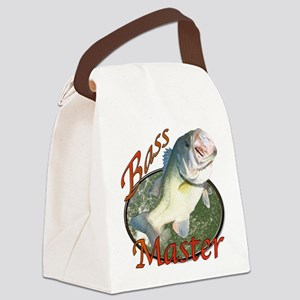 Bass master Canvas Lunch Bag