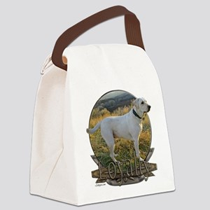 White lab loyalty Canvas Lunch Bag