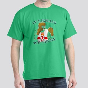 In N.Ireland boxing we trust Dark T-Shirt