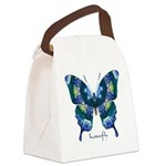 Surrender Butterfly Canvas Lunch Bag