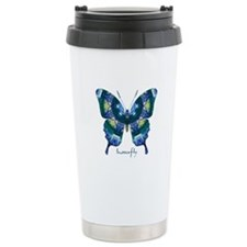 Surrender Butterfly Stainless Steel Travel Mug