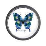 Surrender Butterfly Wall Clock
