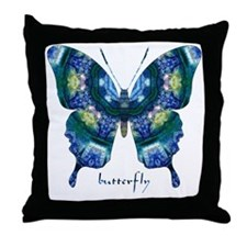 Surrender Butterfly Throw Pillow