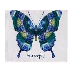 Surrender Butterfly Throw Blanket