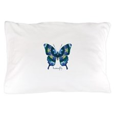 Surrender Butterfly Pillow Case
