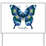 Surrender Butterfly Yard Sign