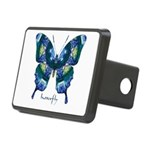 Surrender Butterfly Rectangular Hitch Cover