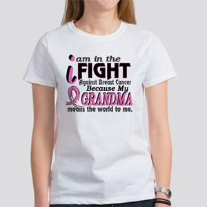 In Fight Because My Breast Cancer Women's T-Shirt