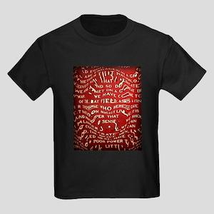 Gettysburg Address Kids Dark T-Shirt