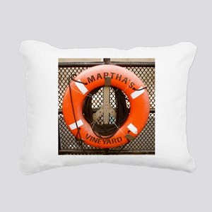 Marthas Vineyard Rectangular Canvas Pillow