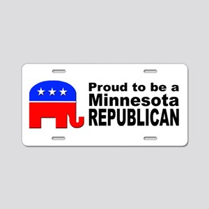 Minnesota Republican Pride Aluminum License Plate