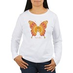 Romance Butterfly Women's Long Sleeve T-Shirt