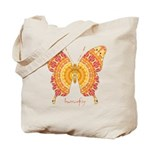 Romance Butterfly Tote Bag