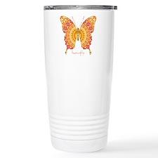 Romance Butterfly Stainless Steel Travel Mug