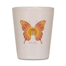 Romance Butterfly Shot Glass