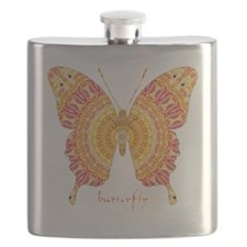 Romance Butterfly Flask