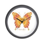 Romance Butterfly Wall Clock
