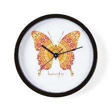 Romance Butterfly Wall Clock