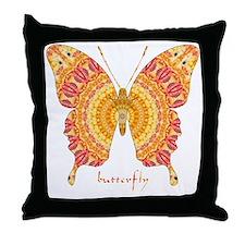 Romance Butterfly Throw Pillow