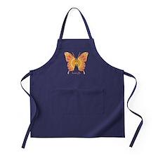 Romance Butterfly Apron (dark)