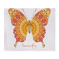 Romance Butterfly Throw Blanket