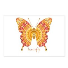 Romance Butterfly Postcards (Package of 8)