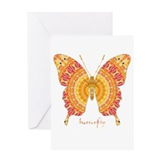 Romance Butterfly Greeting Card