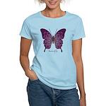 Centering Butterfly Women's Light T-Shirt