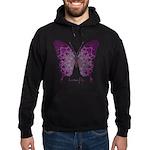 Centering Butterfly Hoodie (dark)