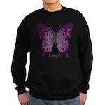 Centering Butterfly Sweatshirt (dark)