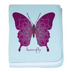 Centering Butterfly baby blanket
