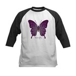 Centering Butterfly Kids Baseball Jersey