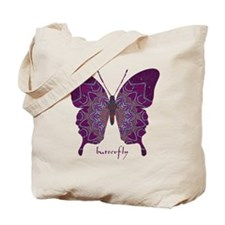 Centering Butterfly Tote Bag