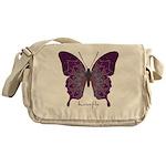 Centering Butterfly Messenger Bag