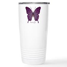 Centering Butterfly Stainless Steel Travel Mug