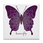 Centering Butterfly Tile Coaster