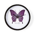 Centering Butterfly Wall Clock