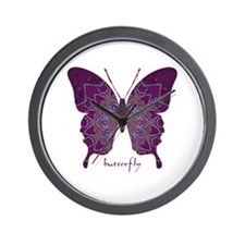 Centering Butterfly Wall Clock