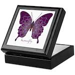 Centering Butterfly Keepsake Box
