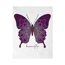 Centering Butterfly Twin Duvet