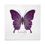 Centering Butterfly Queen Duvet