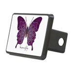 Centering Butterfly Rectangular Hitch Cover