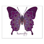 Centering Butterfly Small Poster