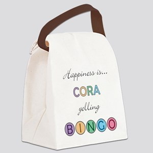 Cora Canvas Lunch Bag
