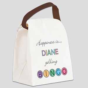 Diane Canvas Lunch Bag