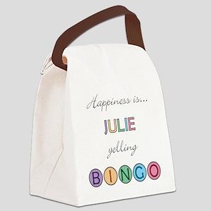 Julie Canvas Lunch Bag